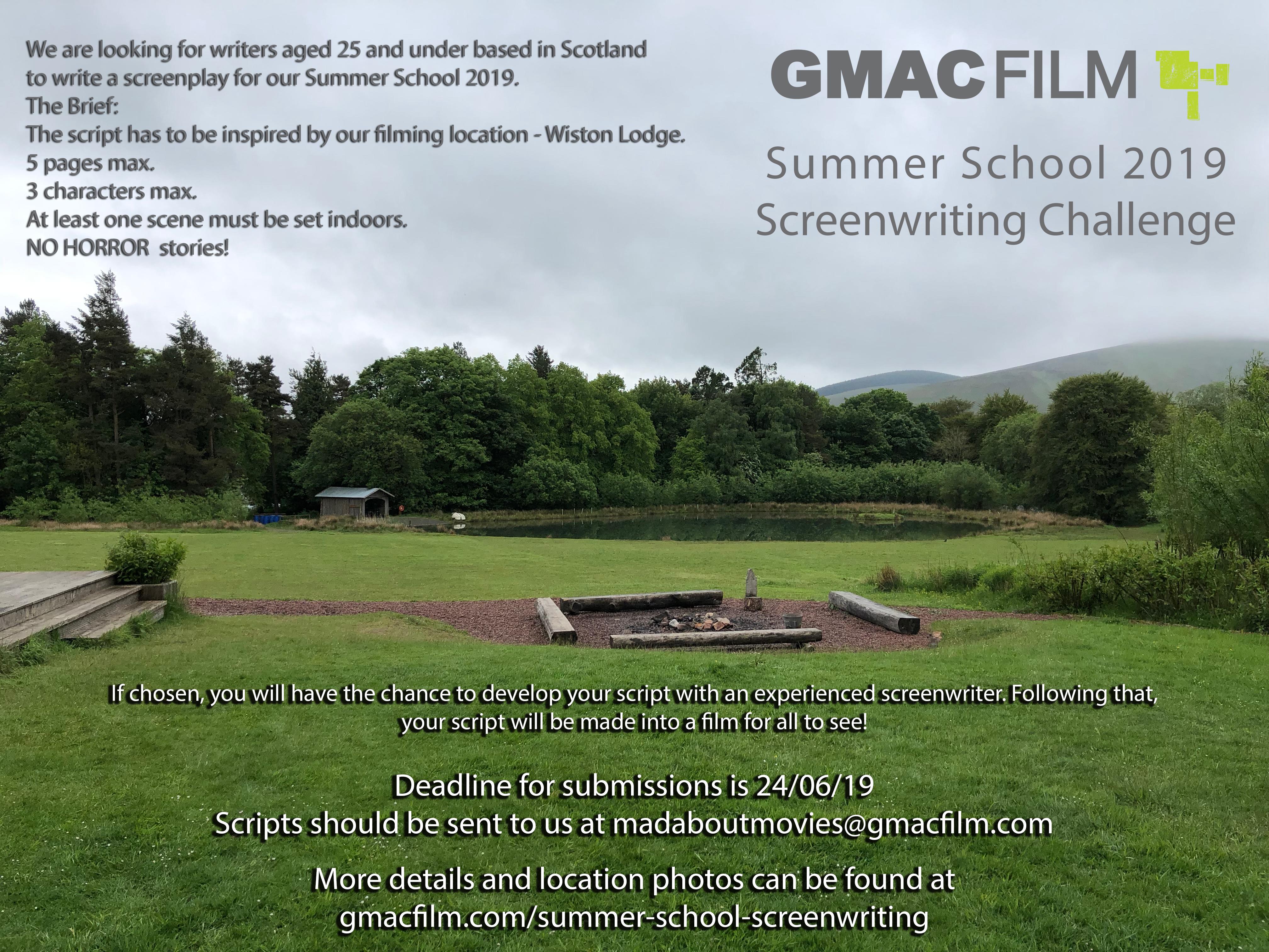Summer School Screenwriting Challenge
